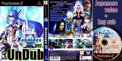 Xenosaga Episode III (UnDub ver) (NTSC-U Japanese voice - Eng text sub) - Download ISO