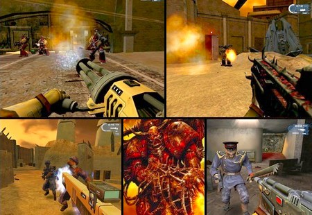 Warhammer 40,000: Fire Warrior (Beta ver) (PAL EU Eng) - Download ISO ROM (PS2)