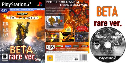 Warhammer 40,000: Fire Warrior (Beta ver) (PAL EU Eng) - Download ISO