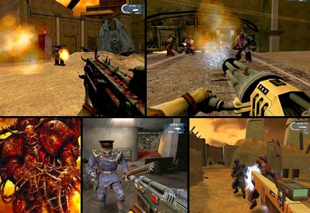 Warhammer 40,000: Fire Warrior (PAL EU NTSC-U US Eng It Fr Es) - Download ISO ROM (PS2)