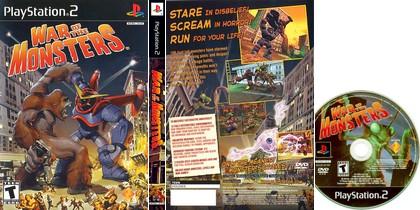 War of the Monsters (NTSC-U US PAL EU Jap Kor Eng Es De It Fr) - Download ISO ROM (PS2)