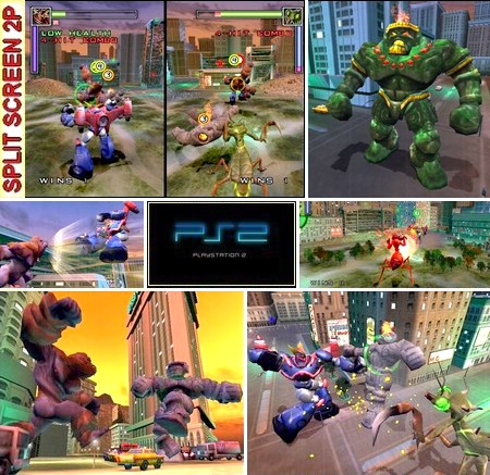 War of the Monsters (Korean) - Download ISO ROM (PS2)
