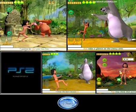 Walt Disney's The Jungle Book: Groove Party (PAL EU En Es De It Fr Nl Sv Da Pl Fi Su No Pt) - Download ISO ROM (PS2)