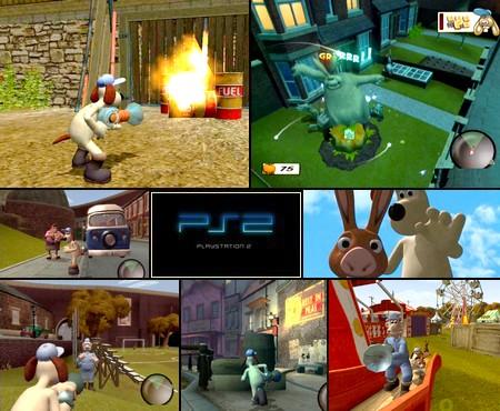 Wallace to Gromit: Yasaibatake de Dai-Pinch! (J) - Download ISO ROM (PS2)
