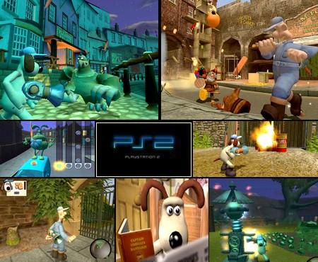 Wallace & Gromit: La Maldición de las Verduras (PAL EU Eng Spa Es) - Download ISO ROM (PS2)
