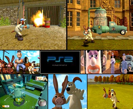 Wallace & Gromit - Le Mystère du Lapin-Garou (PAL EU Eng Fr) - Download ISO ROM (PS2)