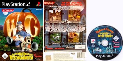 Wallace & Gromit: Auf der Jagd nach dem Riesenkaninchen (PAL EU Eng Ger De) - Download ISO ROM (PS2)