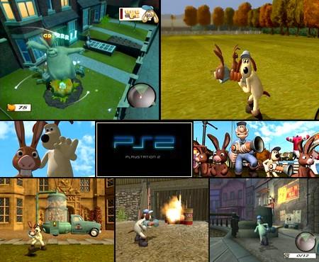 Wallace & Gromit: The Curse of the Were-Rabbit (PAL EU NTSC-U US Jap Eng It Fr Es De) - Download ISO ROM (PS2)