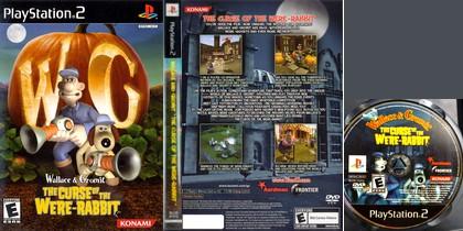 Wallace & Gromit: The Curse of the Were-Rabbit (PAL EU NTSC-U Jap Eng It Fr Es De) - Download ISO ROM (PS2)