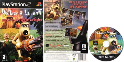 Wallace & Gromit Nel Progetto Del Giardino Zoologico (PAL EU Eng Ita) - Download ISO