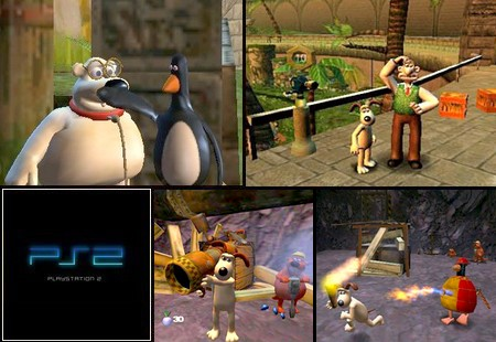 Wallace & Gromit Nel Progetto Del Giardino Zoologico (PAL EU Eng Ita) - Download ISO ROM (PS2)