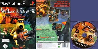 Wallace & Gromit in Projekt Zoo (PAL EU Ger De Eng) - Download ISO ROM (PS2)