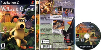 Wallace & Gromit in Project Zoo (PAL EU NTSC-U Eng Es De It Fr) - Download ISO