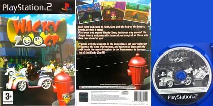Wacky Zoo GP (PAL EU Eng) - Download ISO ROM (PS2)