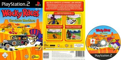 Wacky Races: Verrückte Maschinen (PAL EU Eng Ger De) - Download ISO ROM (PS2)
