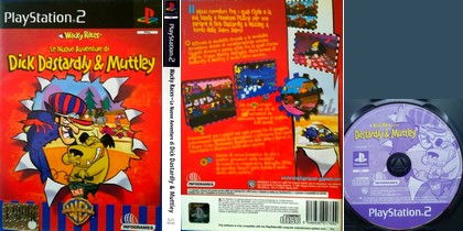 Wacky Races: Le Nuove Avventure di Dick Dastardly & Muttley (PAL EU Eng Ita) - Download ISO ROM (PS2)