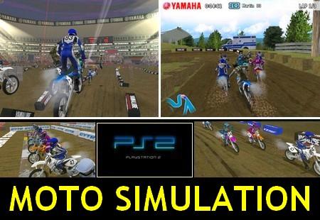 Yamaha Supercross (NTSC-U US PAL EU Eng) - Download ISO ROM (PS2)   EmuGun.Com